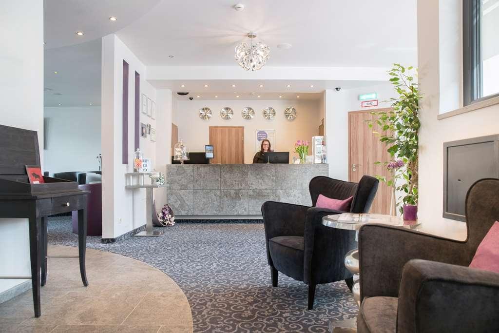 Best Western City Hotel Pirmasens - Vista del vestíbulo