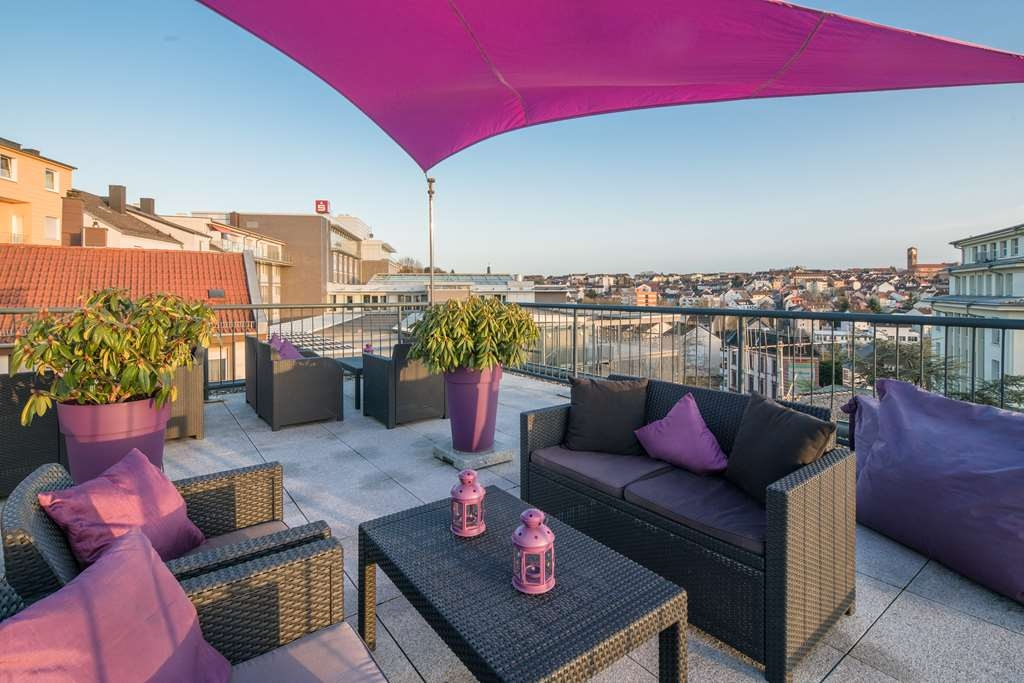 Best Western City Hotel Pirmasens - terrace
