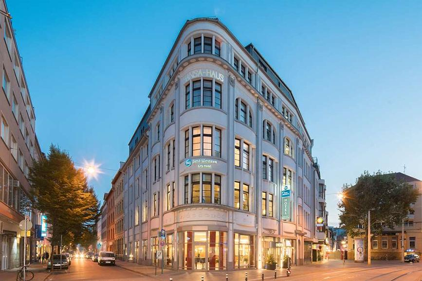 Best Western City-Hotel Braunschweig - Area esterna