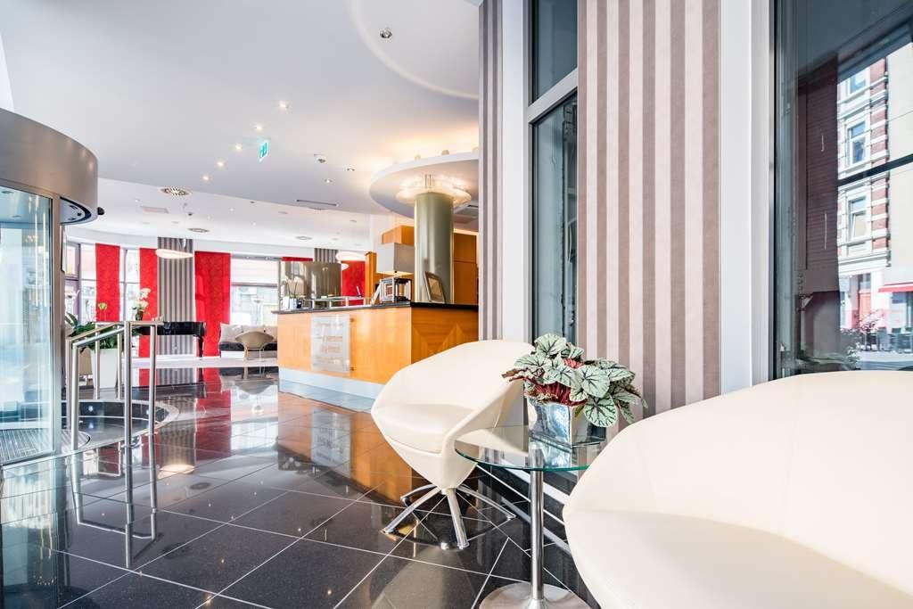 Best Western City-Hotel Braunschweig - Vista del vestíbulo
