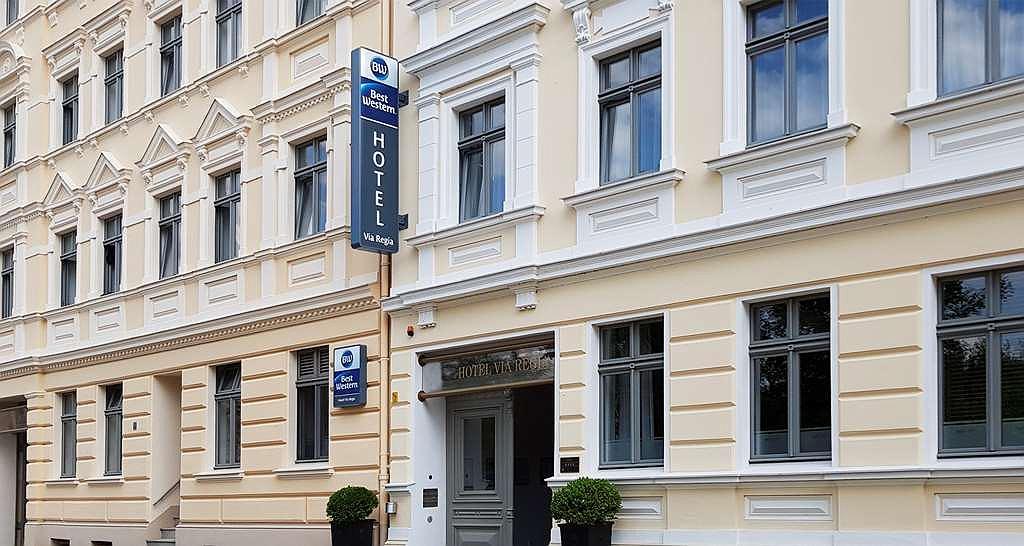 Best Western Hotel Via Regia - Aussenansicht