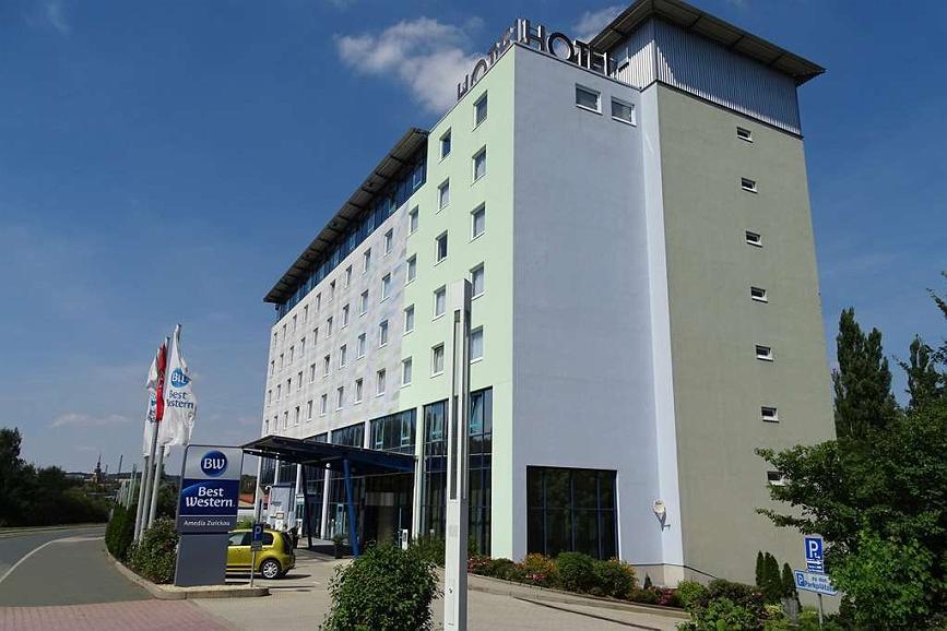Best Western Plaza Hotel Zwickau - Aussenansicht