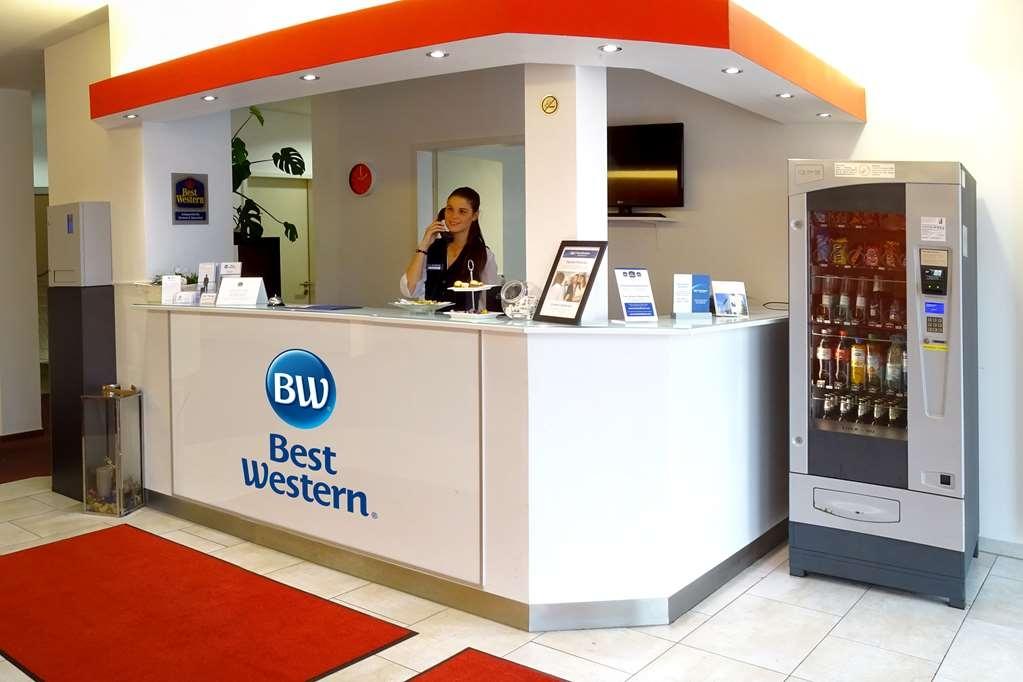 Best Western Amedia Bielefeld / Werther - Reception Desk