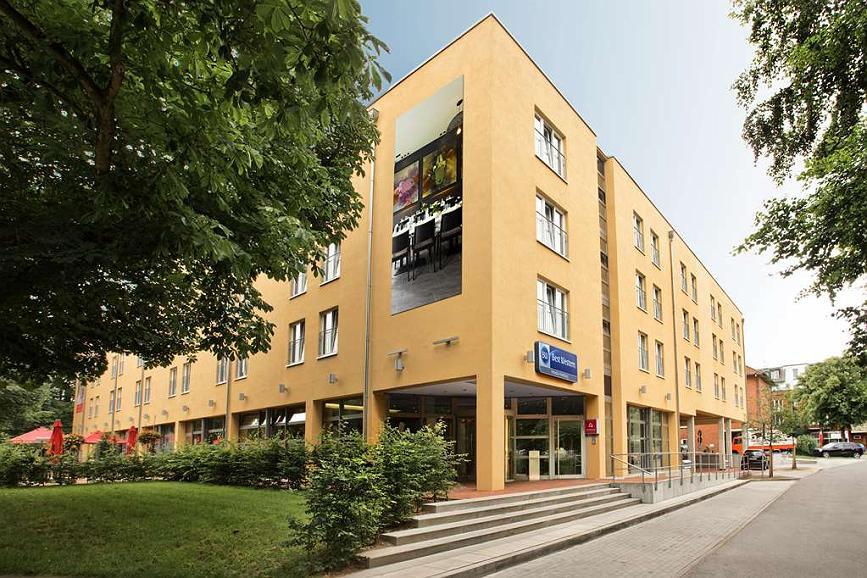 Best Western Plaza Hotel Hamburg - Vista Exterior