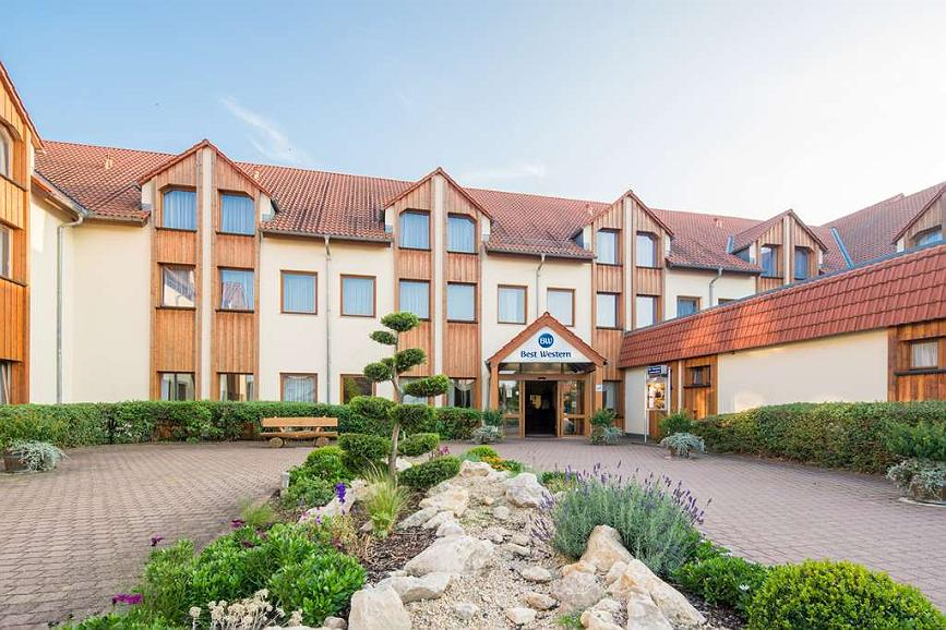Best Western Hotel Erfurt-Apfelstaedt - Vista exterior
