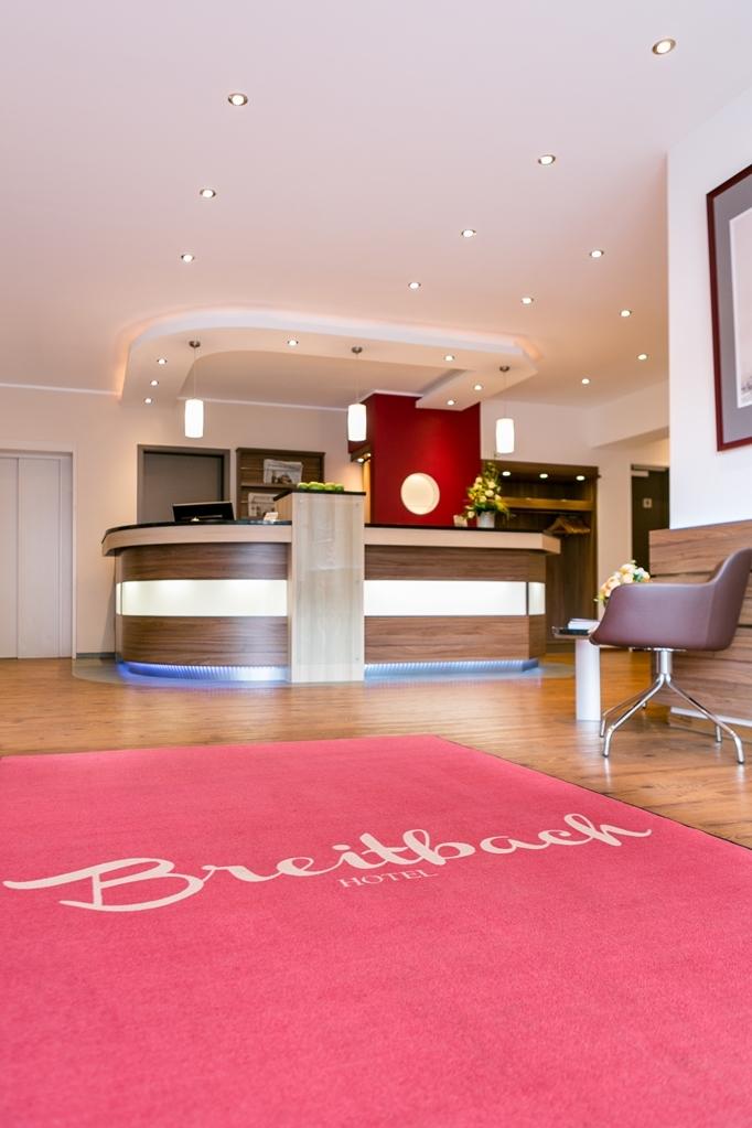 Best Western Hotel Breitbach - Lobbyansicht