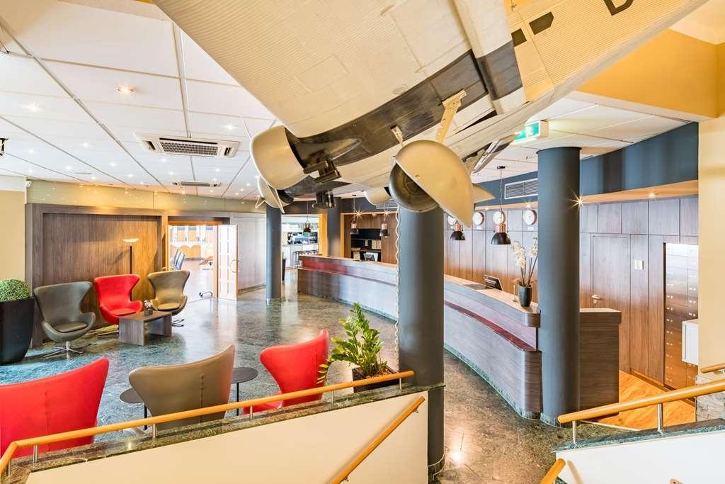 Best Western Amedia Frankfurt Airport - Vue du lobby