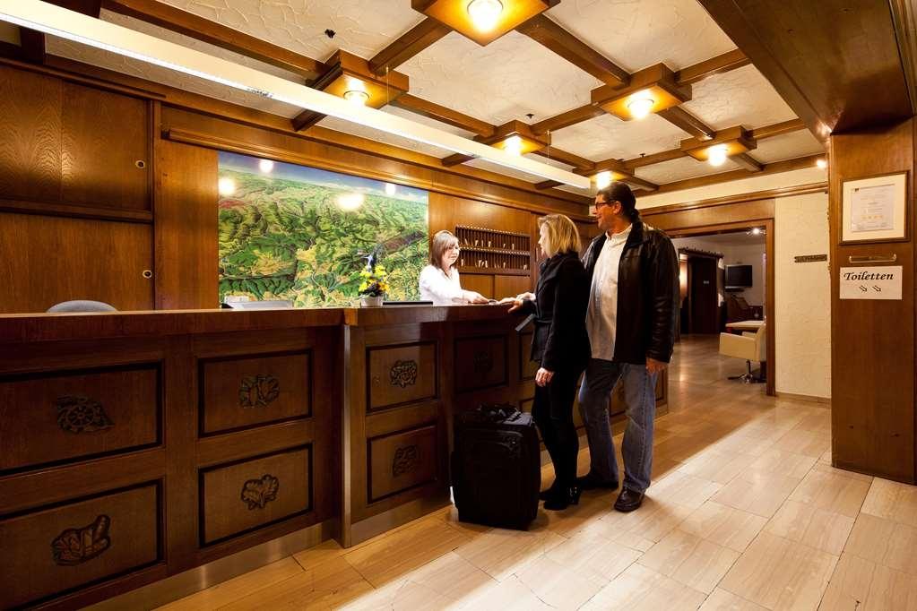 Best Western Hotel St. Michael - reception