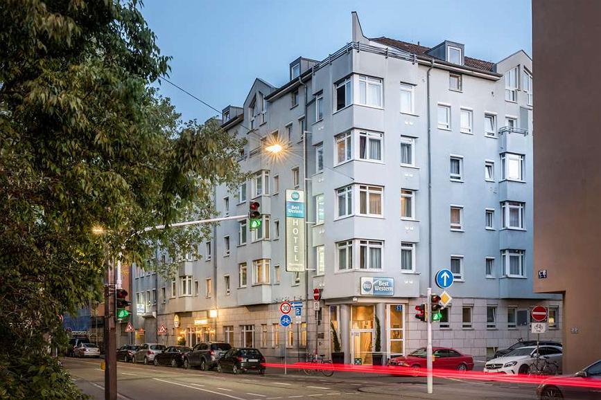 Best Western Hotel Mannheim City - Exterior