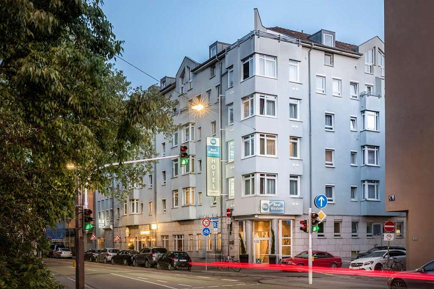 Best Western Hotel Mannheim City - Area esterna