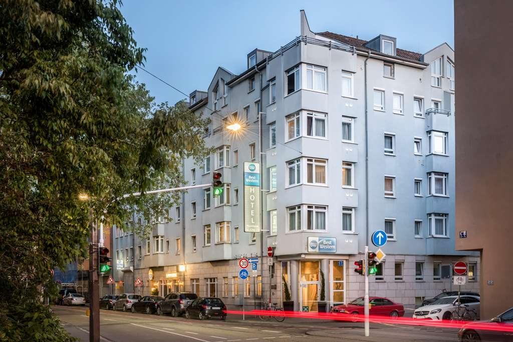 Best Western Hotel Mannheim City - Vista Exterior