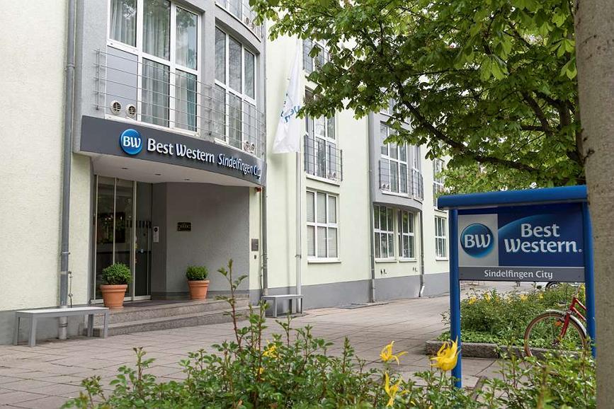 Best Western Hotel Sindelfingen City - Area esterna