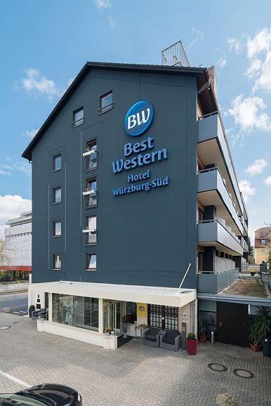 Best Western Hotel Wuerzburg Sued - Vista exterior