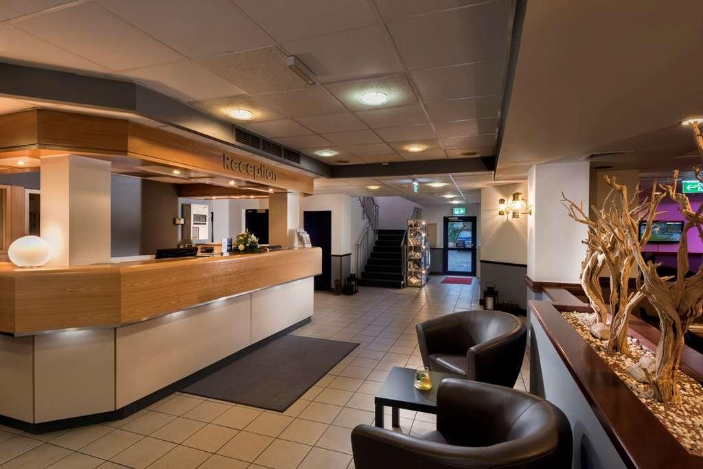 Best Western Hotel Cologne Airport Troisdorf - Vista del vestíbulo