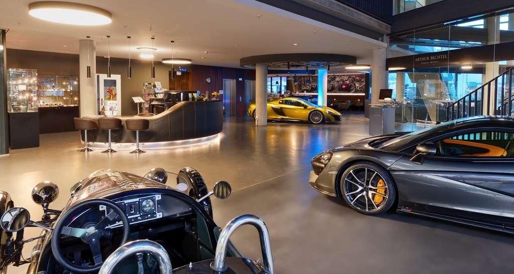 V8 Hotel Motorworld Region Stuttgart, BW Premier Collection - Lobby