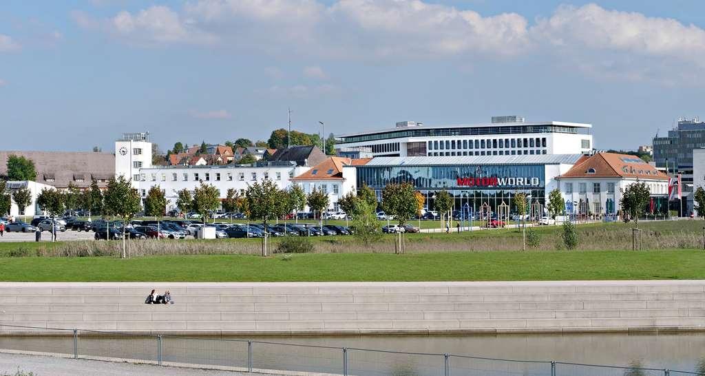 V8 Hotel Motorworld Region Stuttgart, BW Premier Collection - Außenansicht