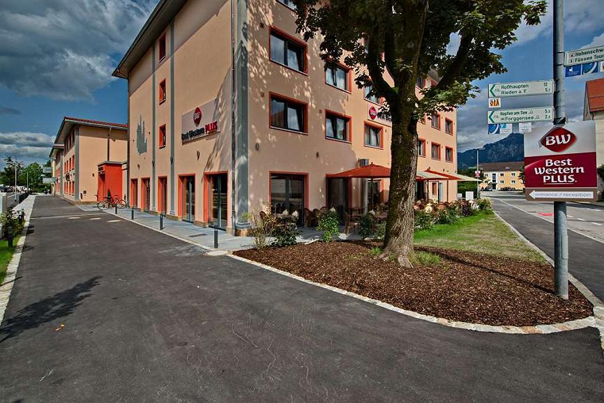 Best Western Plus Hotel Fuessen - Facciata dell'albergo