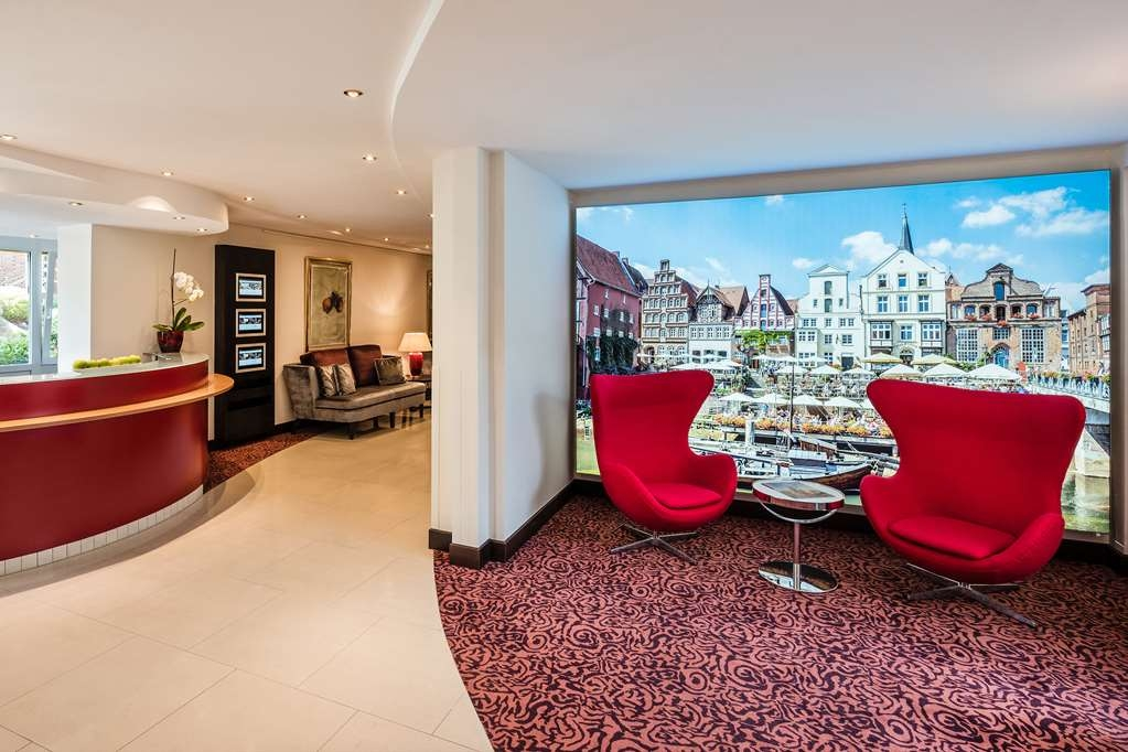 Best Western Plus Residenzhotel Lueneburg - Vue du lobby