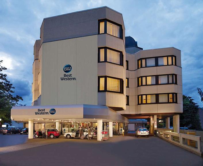 Best Western Hotel Trier City - Area esterna