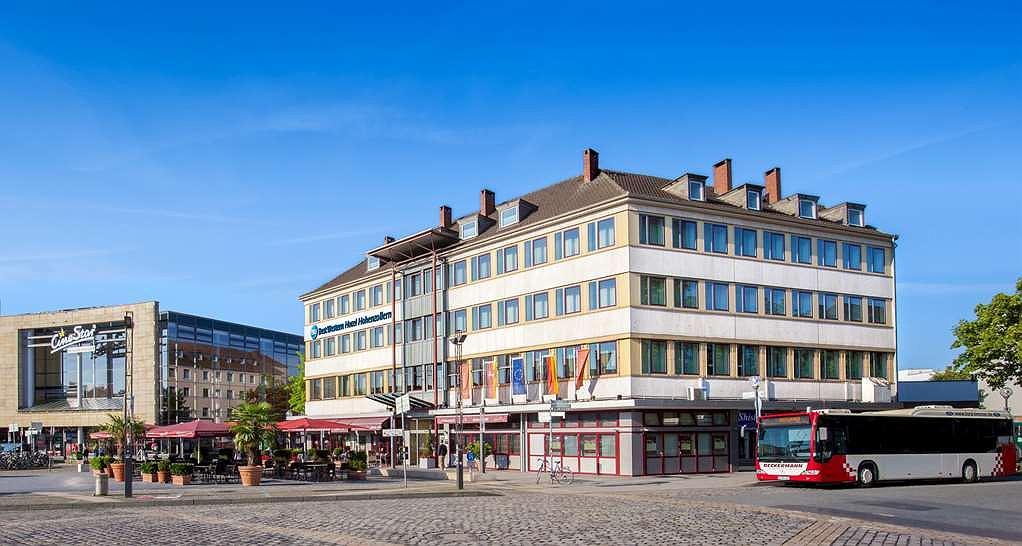 Best Western Hotel Hohenzollern - Aussenansicht