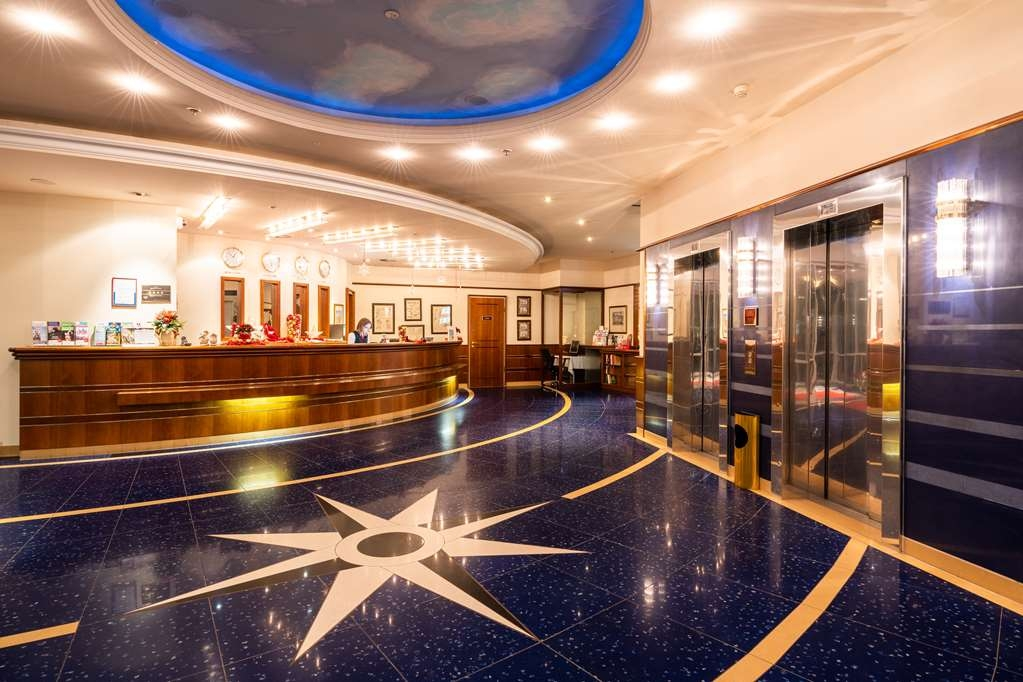 Amedia PLAZA Schwerin, Sure Hotel Collection by Best Western - Vue du lobby
