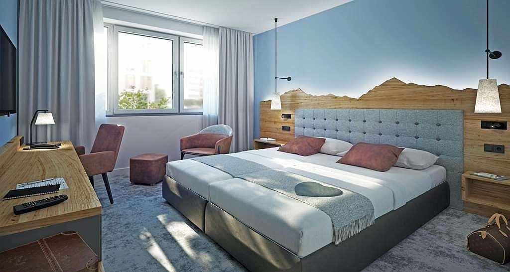 Best Western Hotel Arabellapark Muenchen - Chambres / Logements