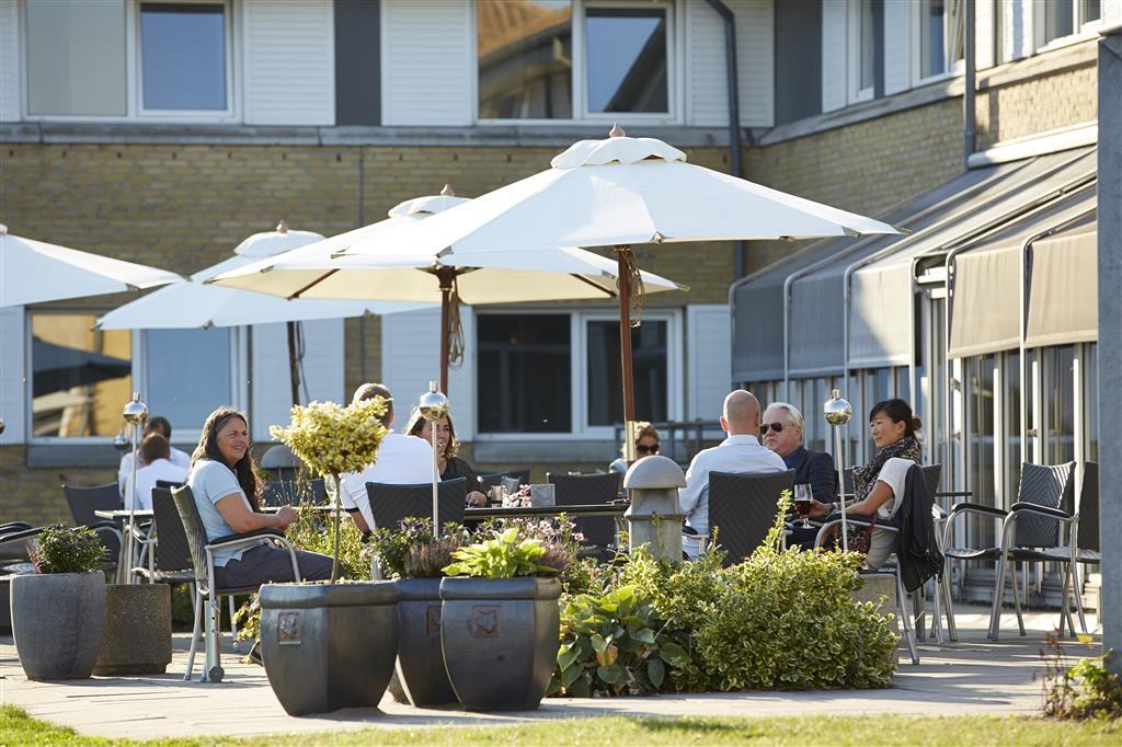 Best Western Plus Hotel Fredericia - Restaurantterrasse