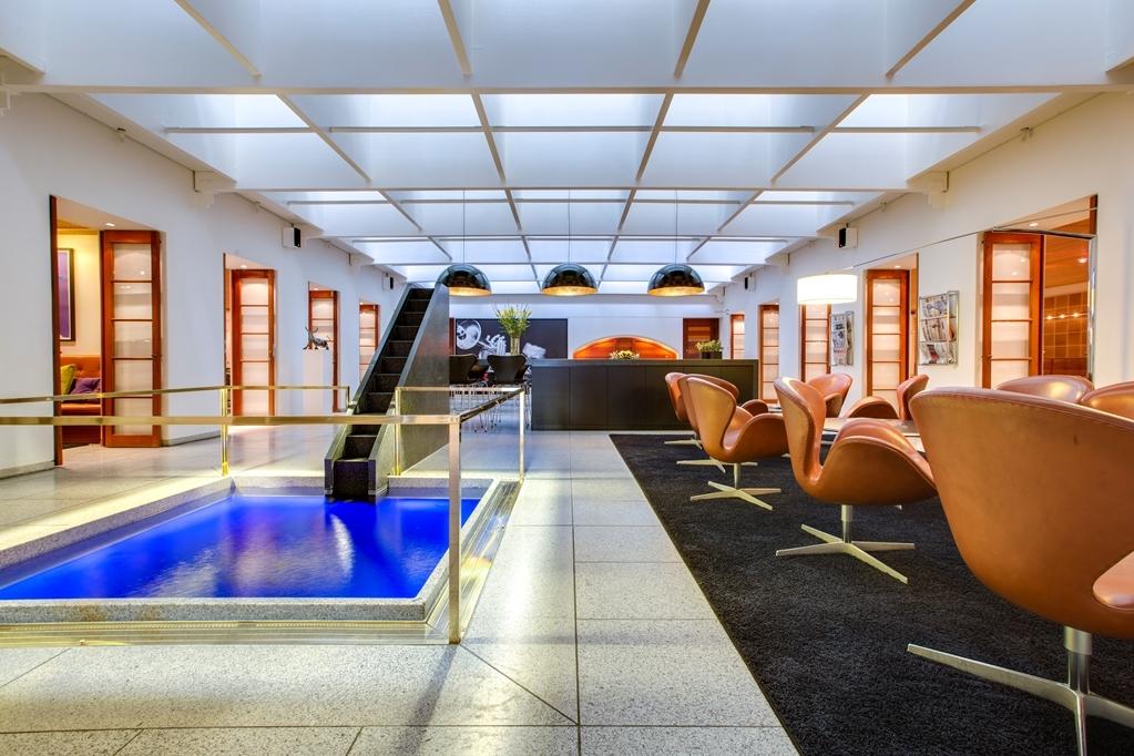 Best Western Plus Hotel City Copenhagen - Vista del vestíbulo