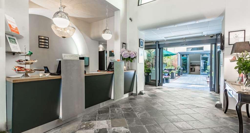 Best Western Hotel Hebron - Vista del vestíbulo