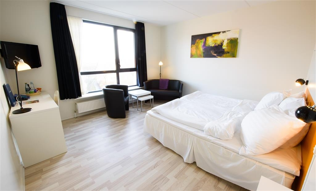 Best Western Royal Holstebro - Double room with king size bed