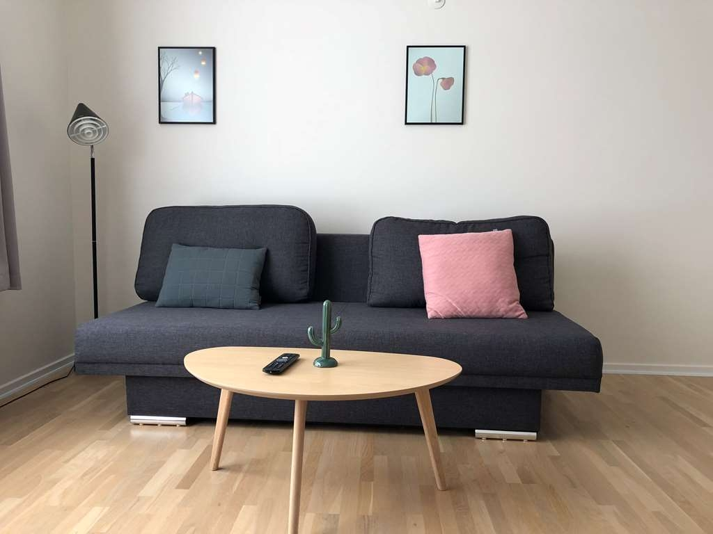 Best Western Royal Holstebro - Apartment Living room, sofa bed