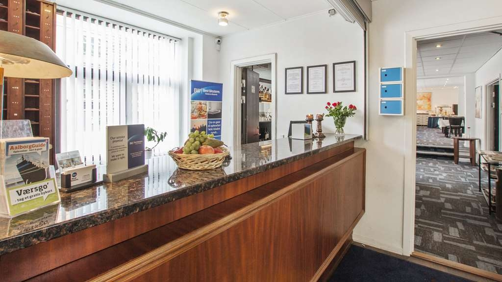 Best Western Prinsen Hotel - Reception