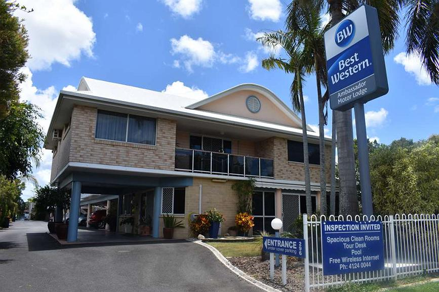 Best Western Ambassador Motor Lodge - The perfect Gateway, just outside your door the Beach awaits