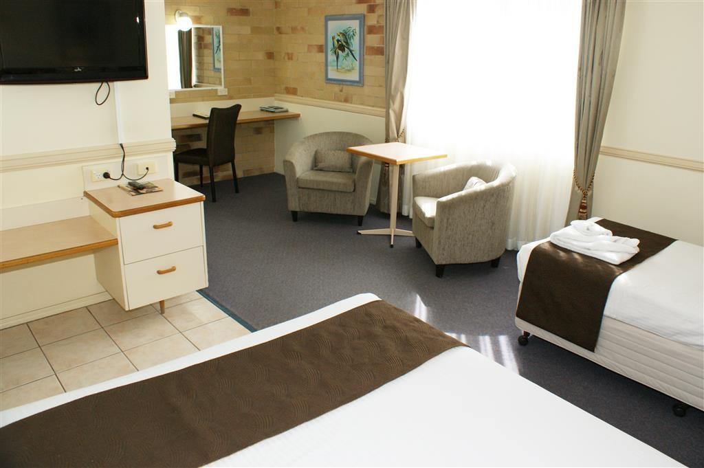 Best Western Ambassador Motor Lodge - Habitación con dos camas individuales