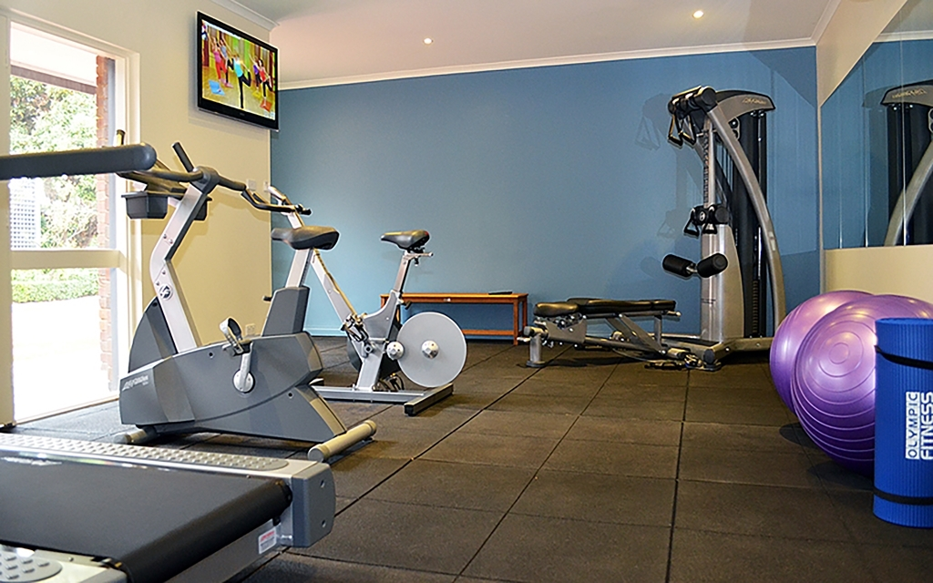 Best Western Plus Buckingham International - fitnessraum