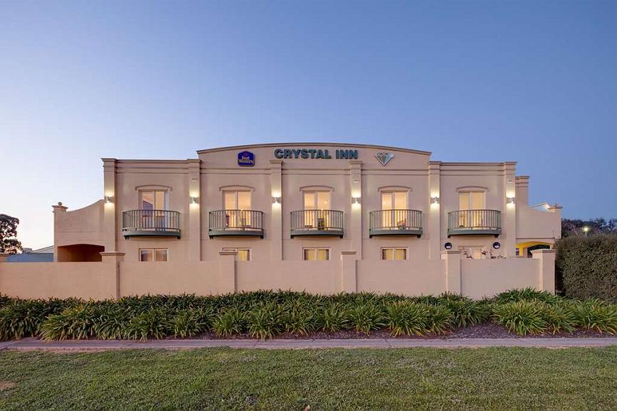Best Western Crystal Inn - Aussenansicht