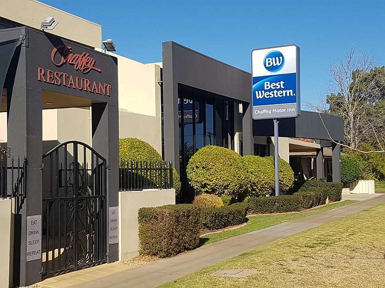 Best Western Chaffey International Motor Inn - Aussenansicht
