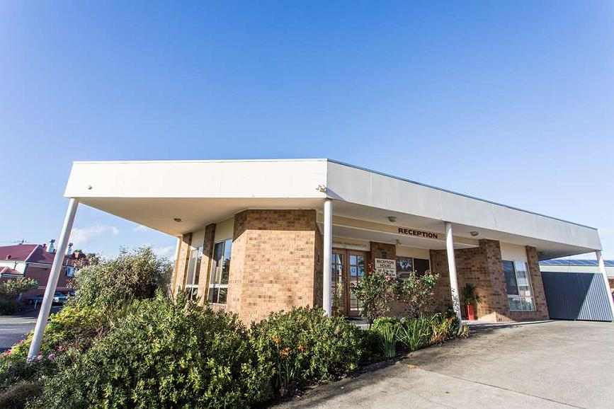Best Western Mill Park Motel - Façade