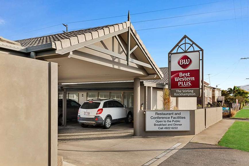 Best Western Plus The Stirling Rockhampton - Aussenansicht