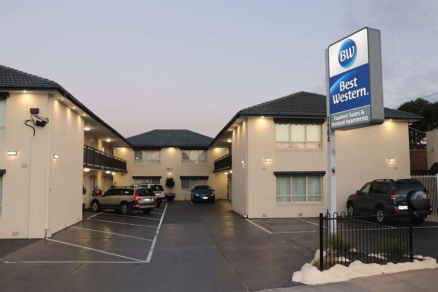 Best Western Fawkner Suites & Serviced Apartments - Aussenansicht