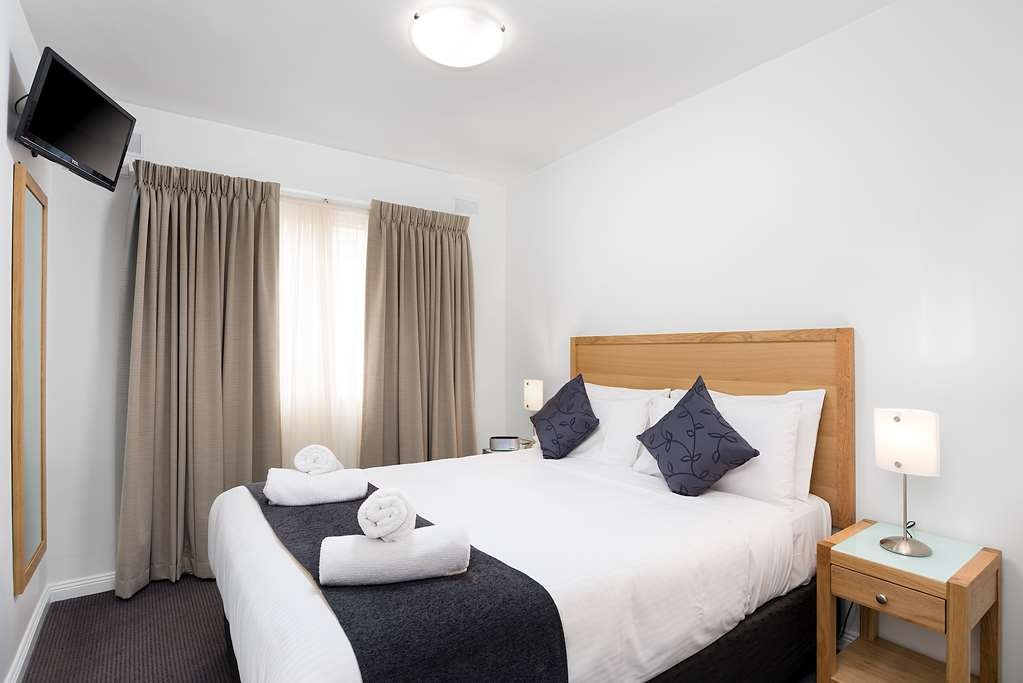Best Western Fawkner Suites & Serviced Apartments - appartement -chambre à coucher