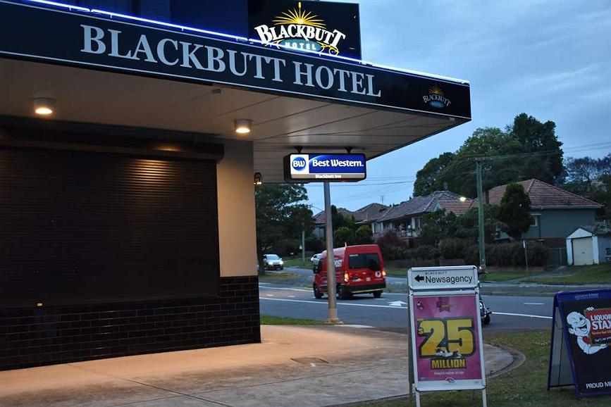 Best Western Blackbutt Inn - Vista exterior