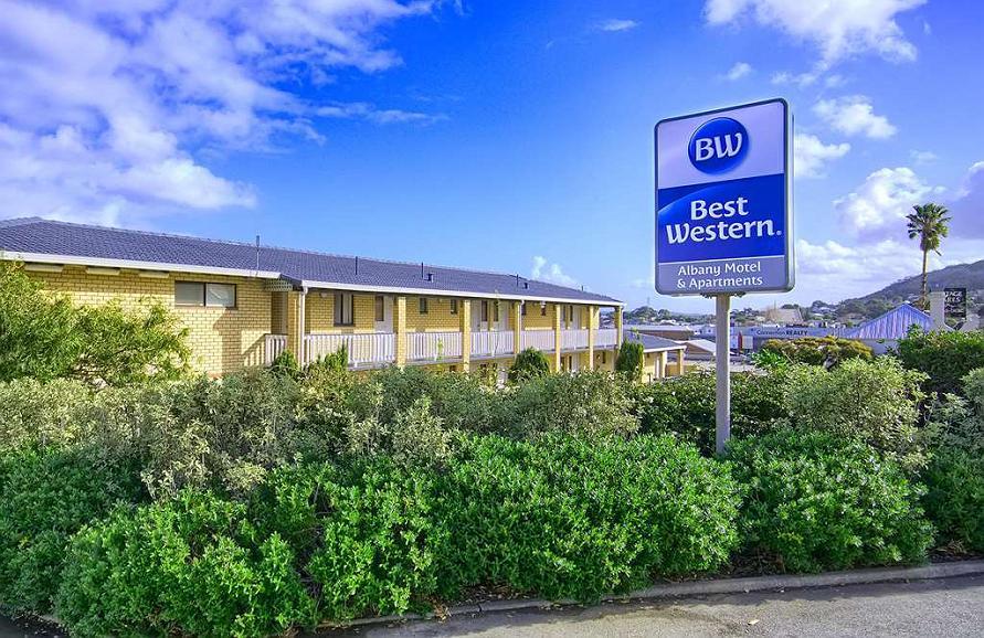Best Western Albany Motel & Apartments - Aussenansicht