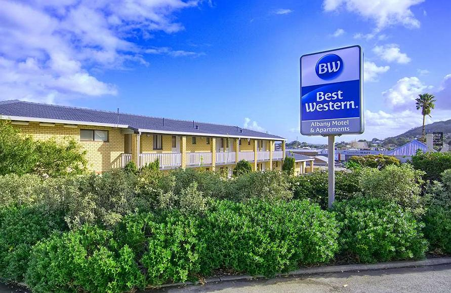 Best Western Albany Motel & Apartments - Vista exterior