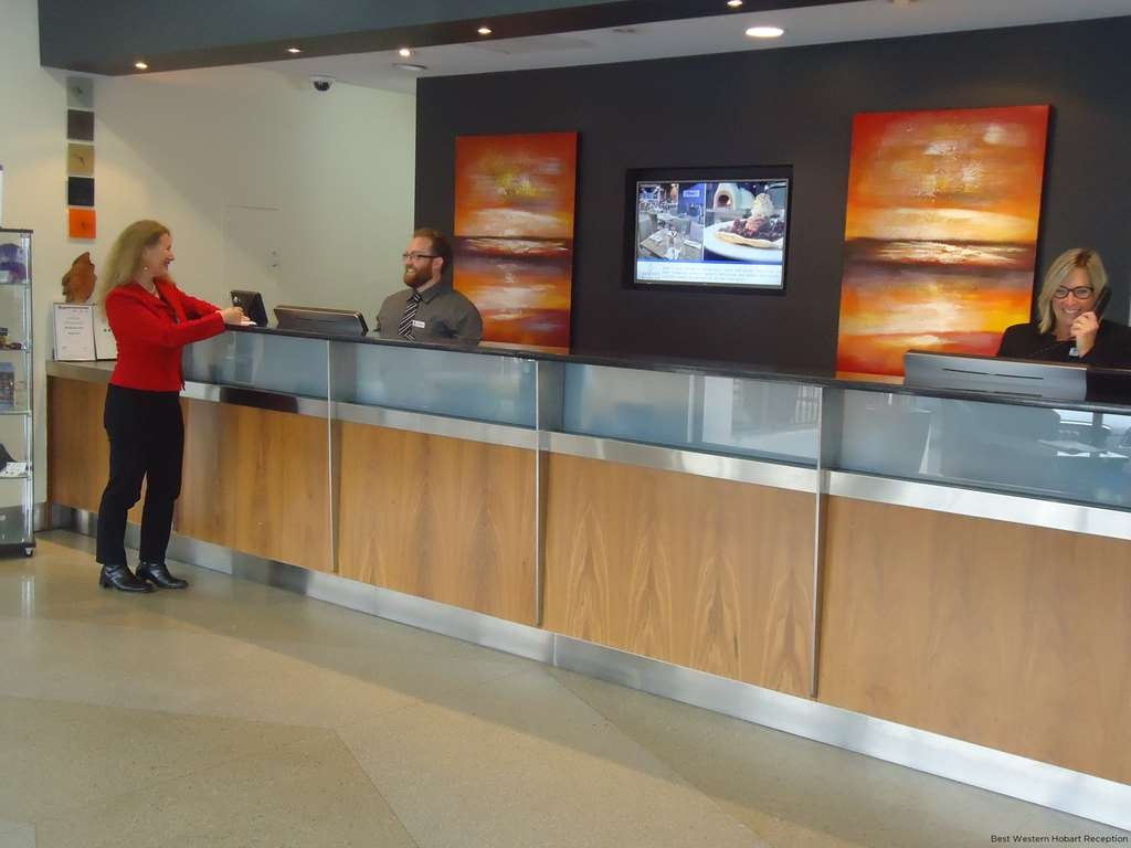 Best Western Hobart - reception