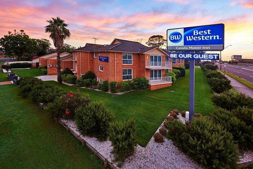 Best Western Casula Motor Inn - Außenansicht