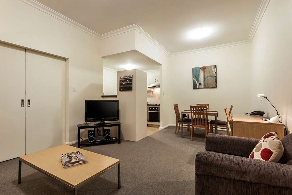 Best Western Northbridge Apartments - One Bedroom Apartment Living and Dining