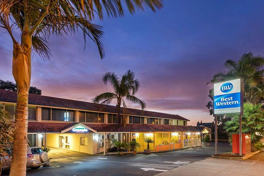 Best Western Adelaide Granada Motor Inn - Aussenansicht