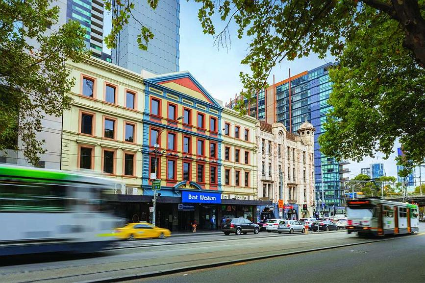 Best Western Melbourne City - Gaestezimmer