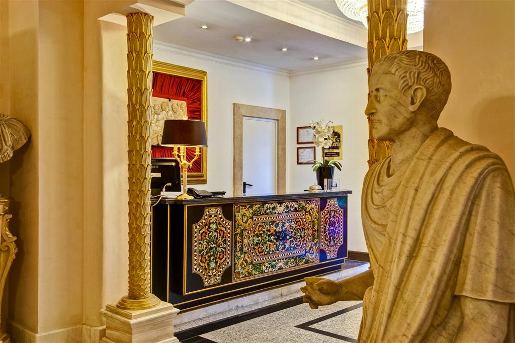 Best Western Hotel Rivoli - reception